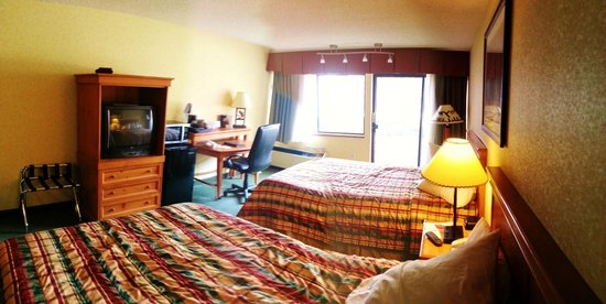Red Lion Hotel Kalispell: The room