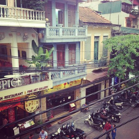Hanoi Old Centre Hotel: view from the room
