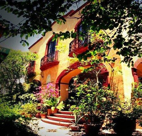 Villa Ganz: Entrada