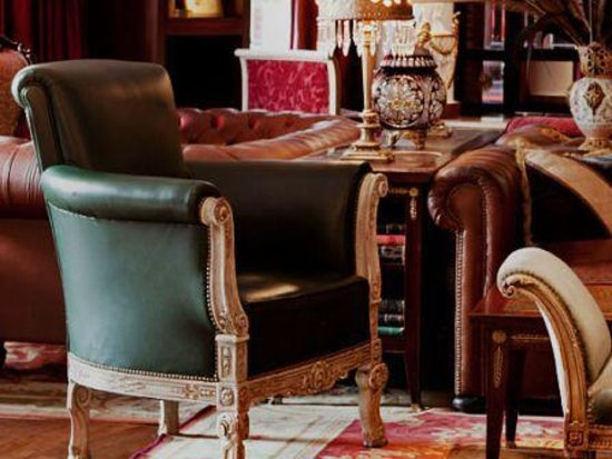 The Library Lounge Hotel Faena Buenos Aires: Eclectic Furniture