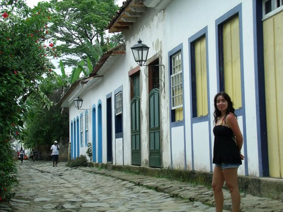 Paraty Central Hostel : Centro histórico.
