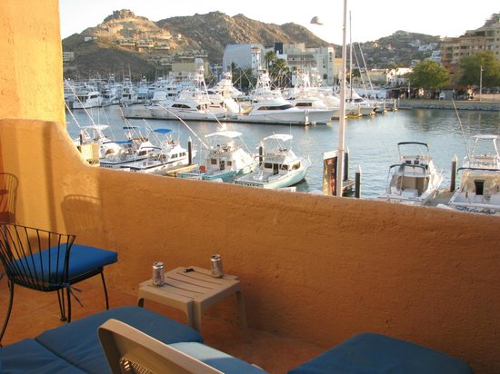 Marina Cabo Plaza: view from 102B patio