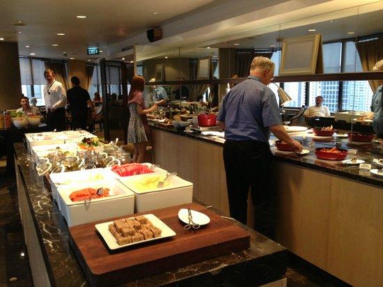 Singapore Marriott Tang Plaza Hotel: Executive lounge