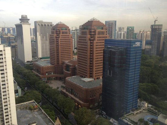 Singapore Marriott Tang Plaza Hotel: View from room