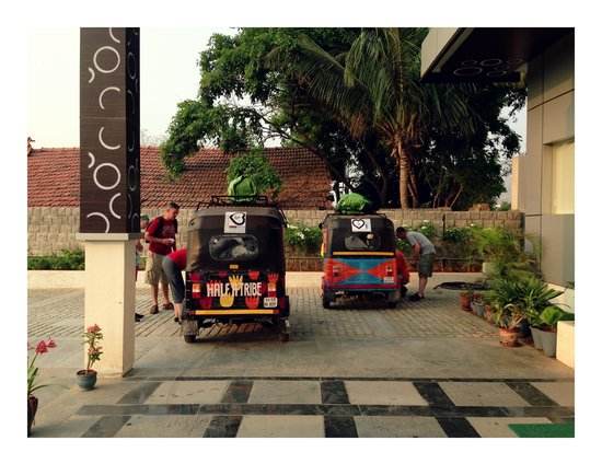 Hotel Alps Residency: Em route to Shillong