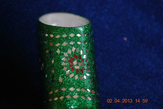 """JG Art and Crafts : """"Lac"""" Pen Stand"""