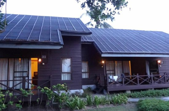 Nirwana Gardens - Mayang Sari Beach Resort: our chalet, ladybug 1