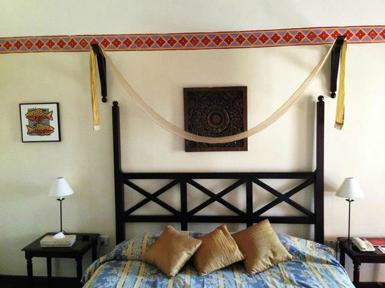 Nirwana Gardens Mayang Sari Beach Resort: inside our room