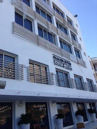 Shalom Hotel & Relax Tel Aviv - an Atlas Boutique Hotel: вид гостиницы с улицы