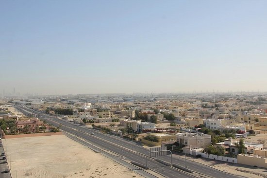 Ramada Chelsea Al Barsha: view from balcony
