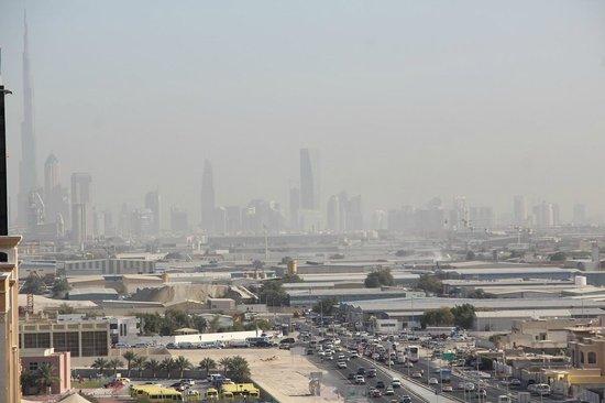 Ramada Chelsea Al Barsha: view from balcony with good zoom