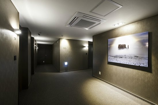 The Grand Hotel Myeongdong: Hallway