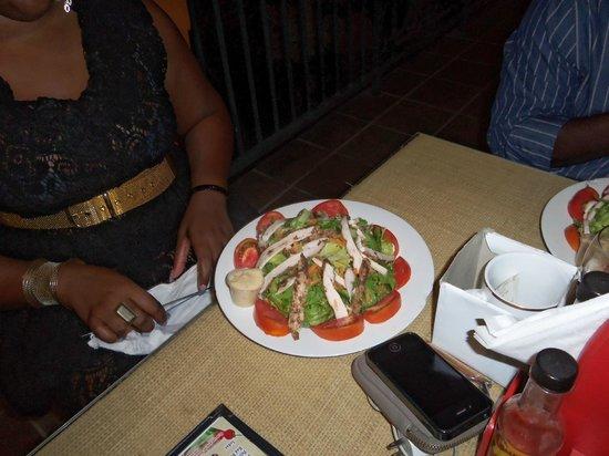 Mama Marley's: Chicken salad