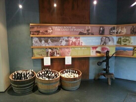 Wild Wombat Winery Tours: De Bortoli winery