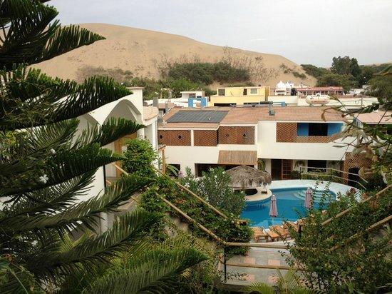 Hotel Villa Jazmin: Zimmeraussicht