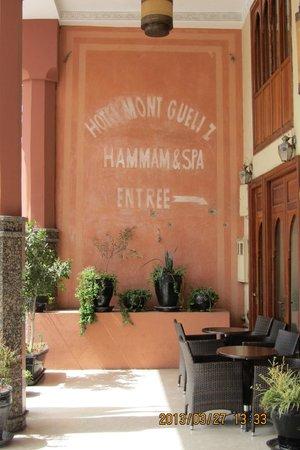 Hotel Mont Gueliz : Entrance