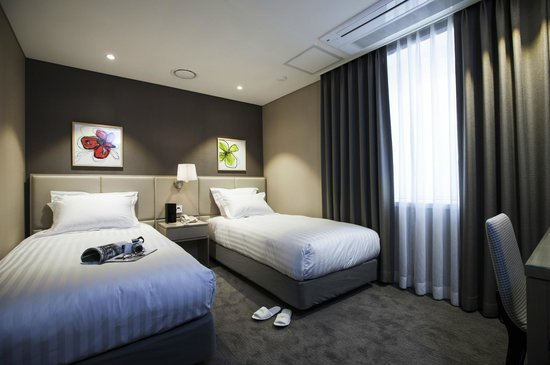 The Grand Hotel Myeongdong: Standard Twin