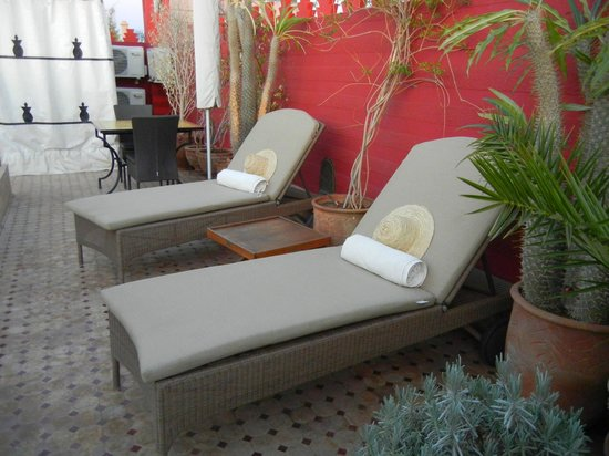 Riad Asrari: Terrasse, 2ème étage