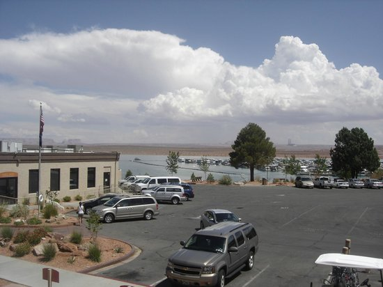 Lake Powell Resort: view from the room