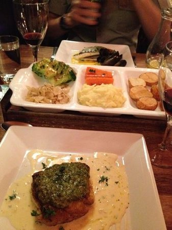 Ditto Restaurant: red snapper & sea bream with mussels dishes