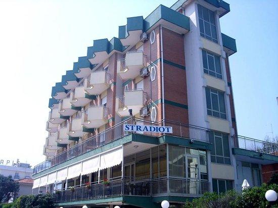 Rivabella, Ιταλία: Esterno Hotel