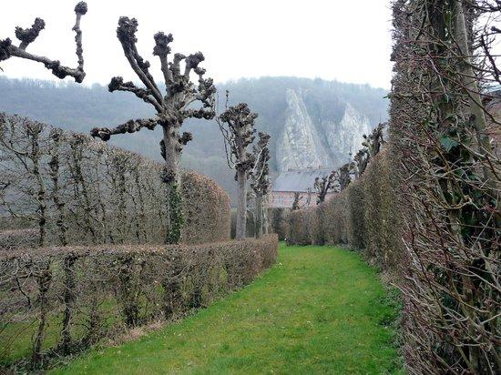 Chateau de Freyr : Château de Freijr - Labyrinth Garden