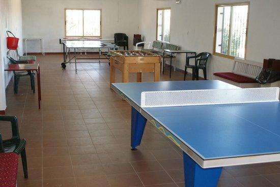 Camping Bungalows Mirador De Cabaneros: Ping pong y futbolín gratis