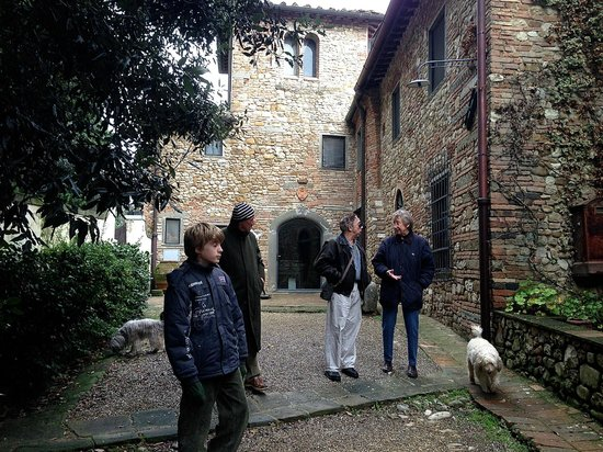 Fattoria la Loggia: Luca and friends