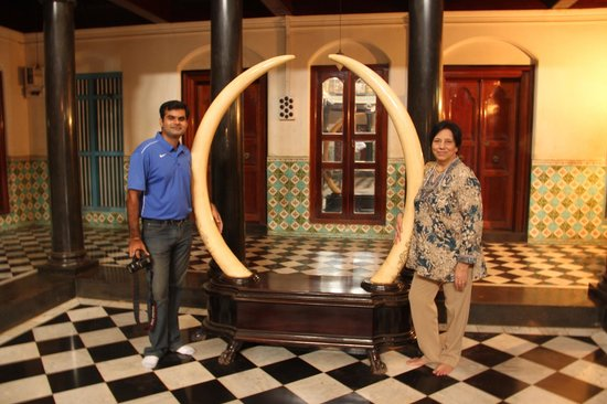 The Bangala: The Tusks in a Chettiar home