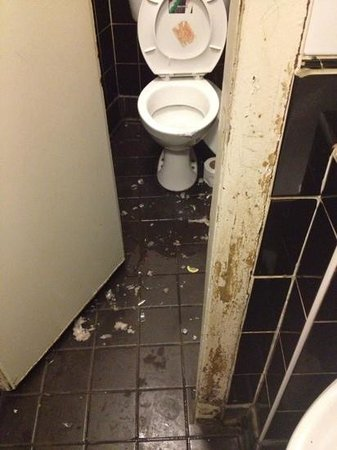 Horse Shoe Bar: horseshoe gents toilet