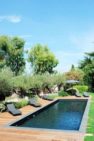 Domaine les Mesanges: piscine de rêve