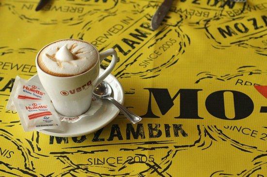 Mo-zam-bik: Mokador coffee served at MoZamBik Hillcrest