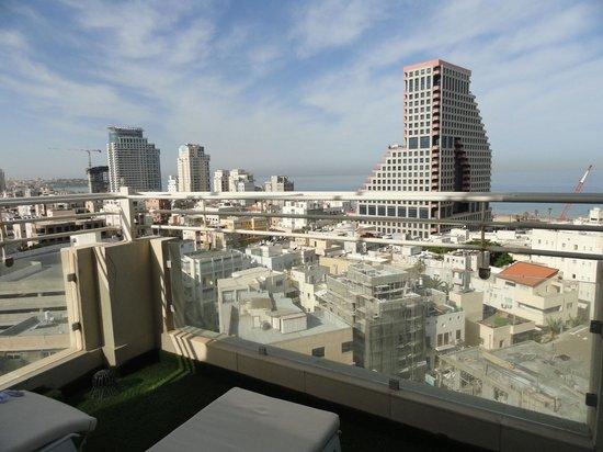 Mercure Tel-Aviv City Center: Balcony view