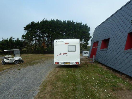 Camping Aber Benoit: Aire de service camping-car du camping de l'aber benoit finistère