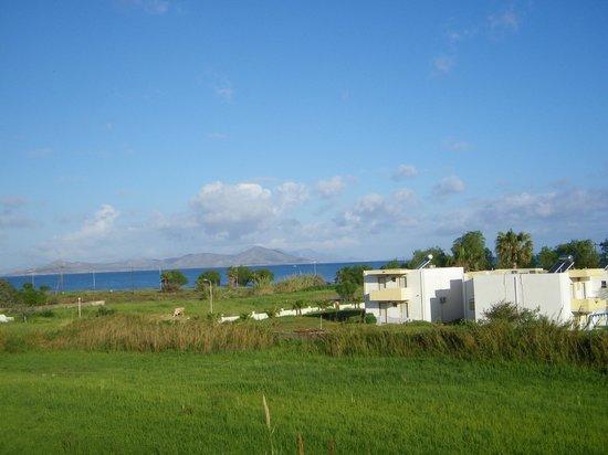 Mare Blue Apartments : Widok z tarasu