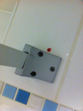 Holiday Inn Preston: Questionable fittings upgrade