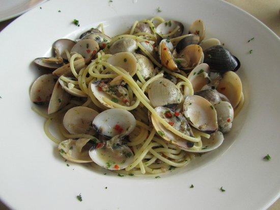 Villa Molek: One of many fab meals at the italian restaurant next door!