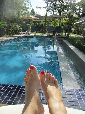Villa Molek: Serene pool