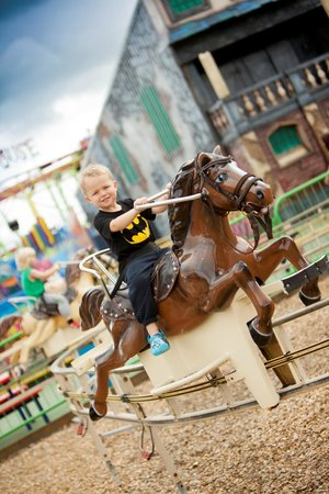 Brean, UK: The Pony Express at Fun City