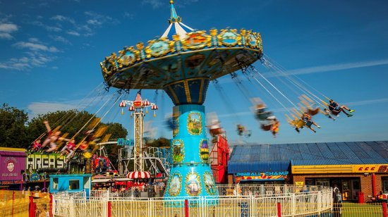 Fun City at Brean Leisure Park : Wave Swinger at Fun City
