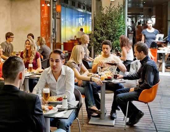 Cafe Cuadro: Cuadro Garten