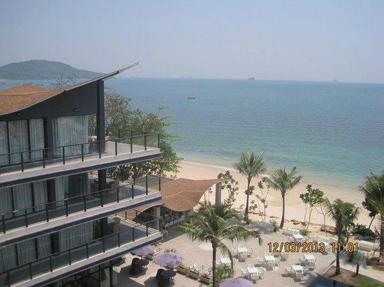 Beyond Resort Krabi: View from the lobby