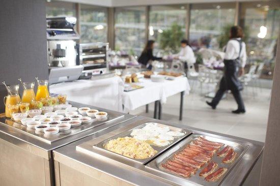 Hotel K10 : Desayuno buffet
