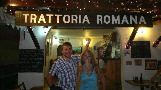 Tulum Trattoria Romana: La facciata del ristorante