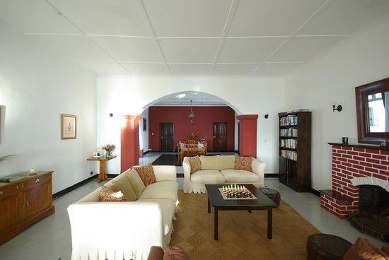 Ashburnham Estate: Communal lounge