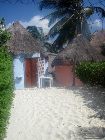 Acamaya Reef: cabanas
