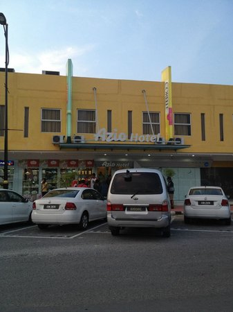 Azio Hotel : Hotel Main entrance