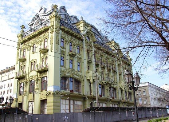 Rue Deribasovskaya : Шикарная архитектура.