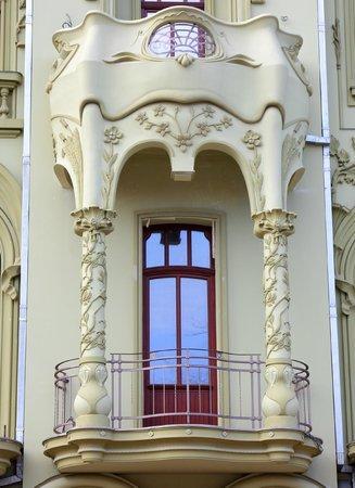 Rue Deribasovskaya : Такой новострой красивый на Дерибасовской.