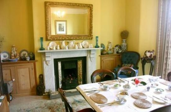 Polbrean House: Dining Room
